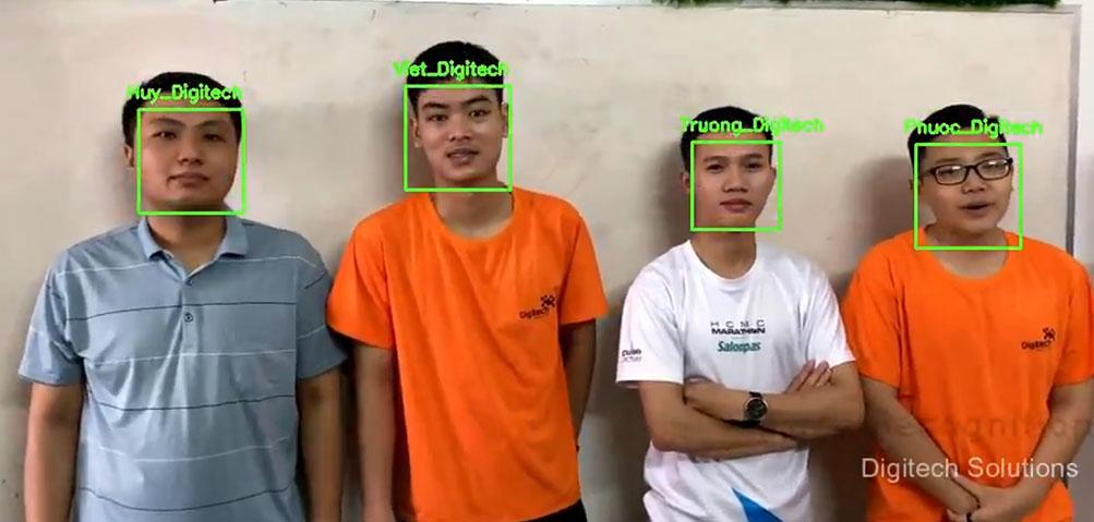 face recognition digitech